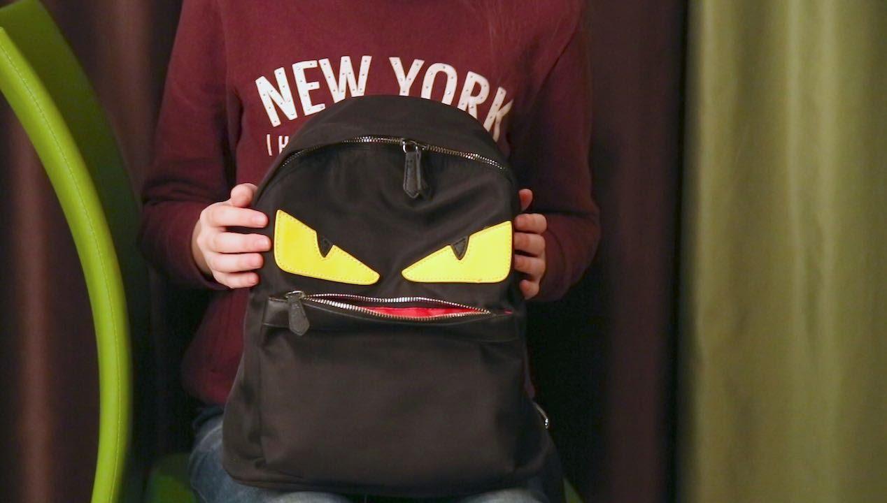 0de715dc3b2c Обзор рюкзака fake FENDI с AliExpress - YouTube