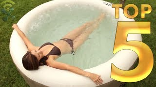 Top 5 Best Inflatable Hot Tubs You Can Buy Now