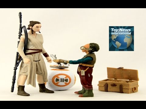 "Star Wars: The Force Awakens 3.75"" Takodana Encounter Figure-Pack With Maz Kanata Review"
