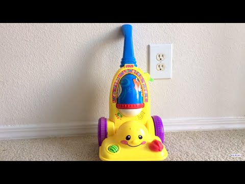 Fisher Price Laugh & Learn Learning Vacuum Cleaner