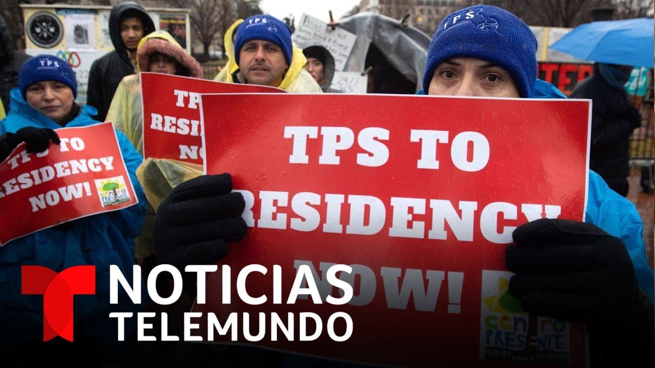 ¿Se otorgará residencia a los beneficiarios del TPS? | Noticias Telemundo