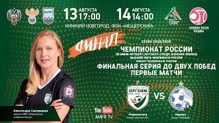 Женщины Чемпионат России Финал Норманочка Аврора Матч 2