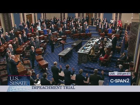 Senate Impeachment Trial OathsKaynak: YouTube · Süre: 1 dakika58 saniye