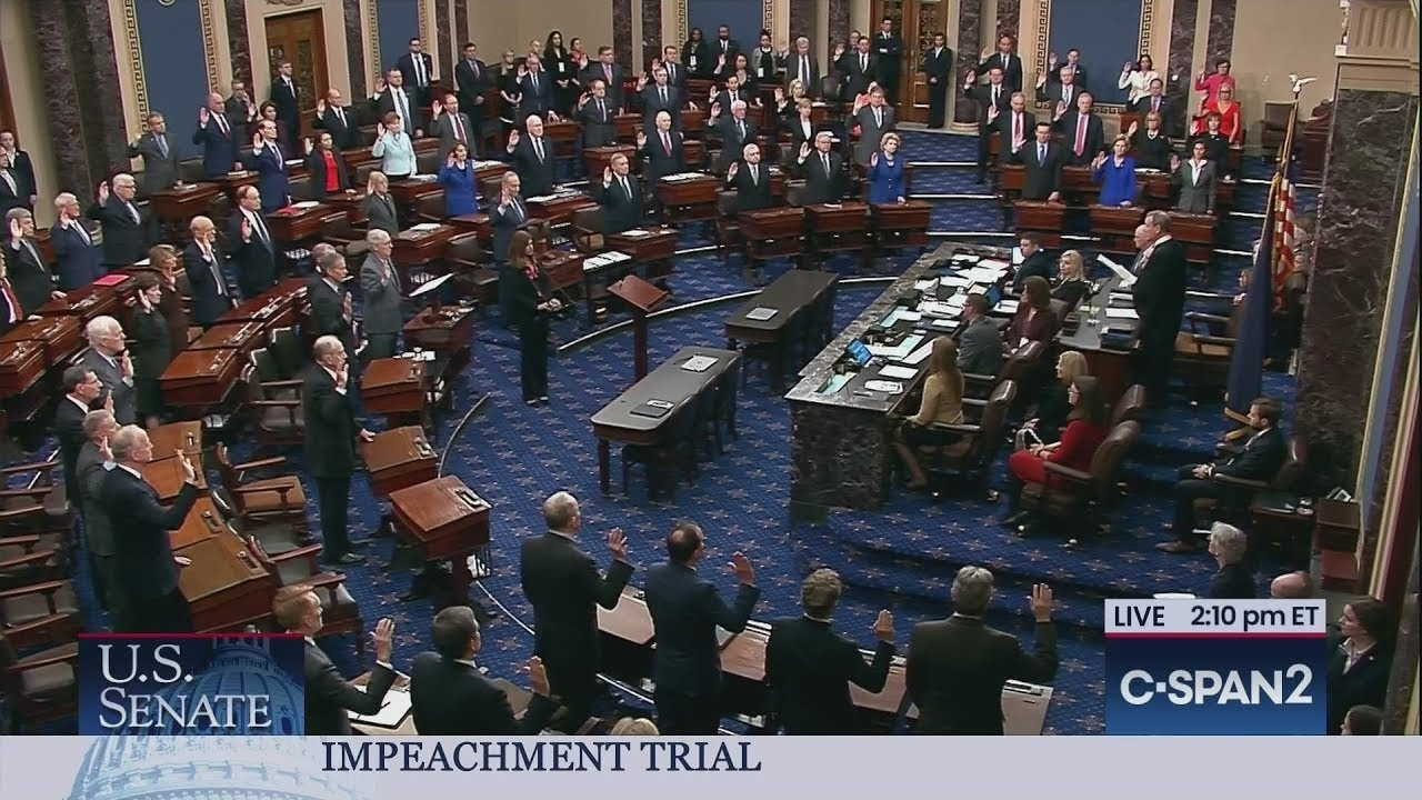 What C-SPAN Can't Show Us at the Impeachment Trial
