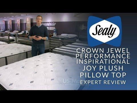 Sealy Crown Jewel Performance Inspirational Joy Plush Euro Pillow Top Mattress Expert Review