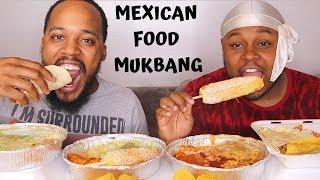 MEXICAN FOOD MUKBANG + Meet Jas's Brother!