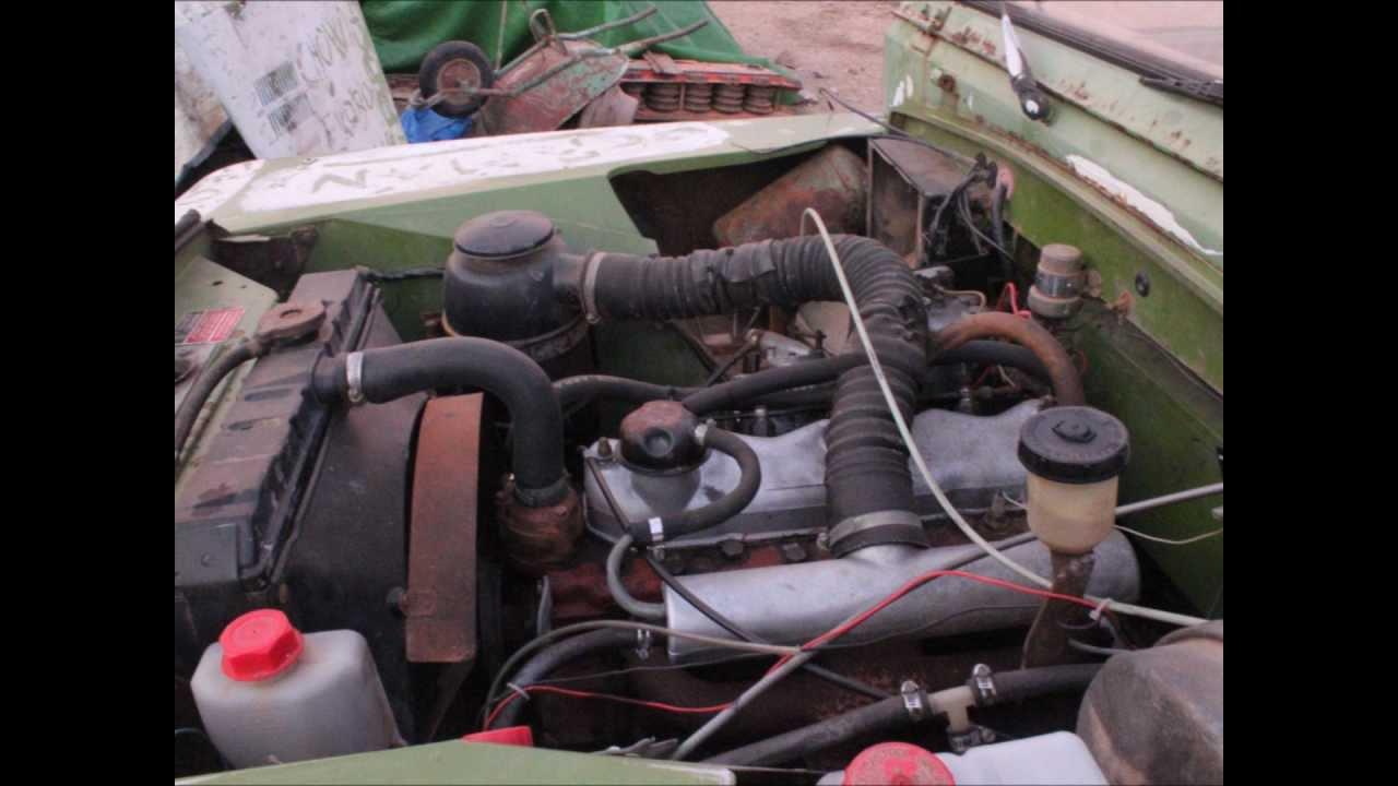 restauracion land rover santana - youtube
