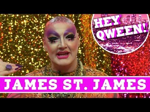 James St. James on Hey Qween with Jonny McGovern