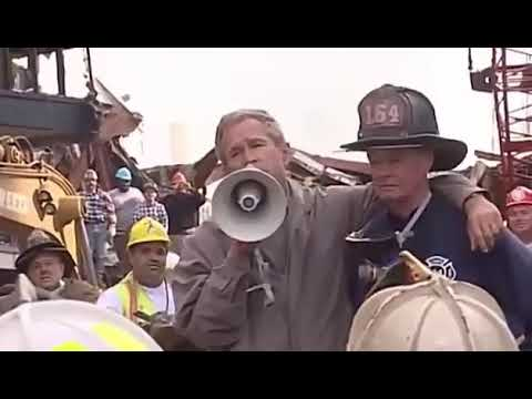 Bullhorn Remarks To First Responders By George W Bush Youtube