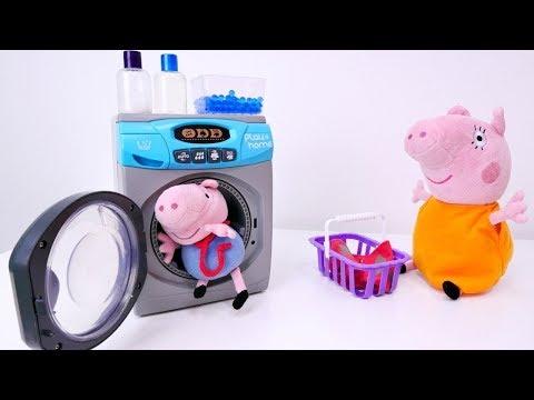 Peppa ajuda a Mamãe Pig! Peppa Pig Português Brasil.Vídeos educativos com brinquedos