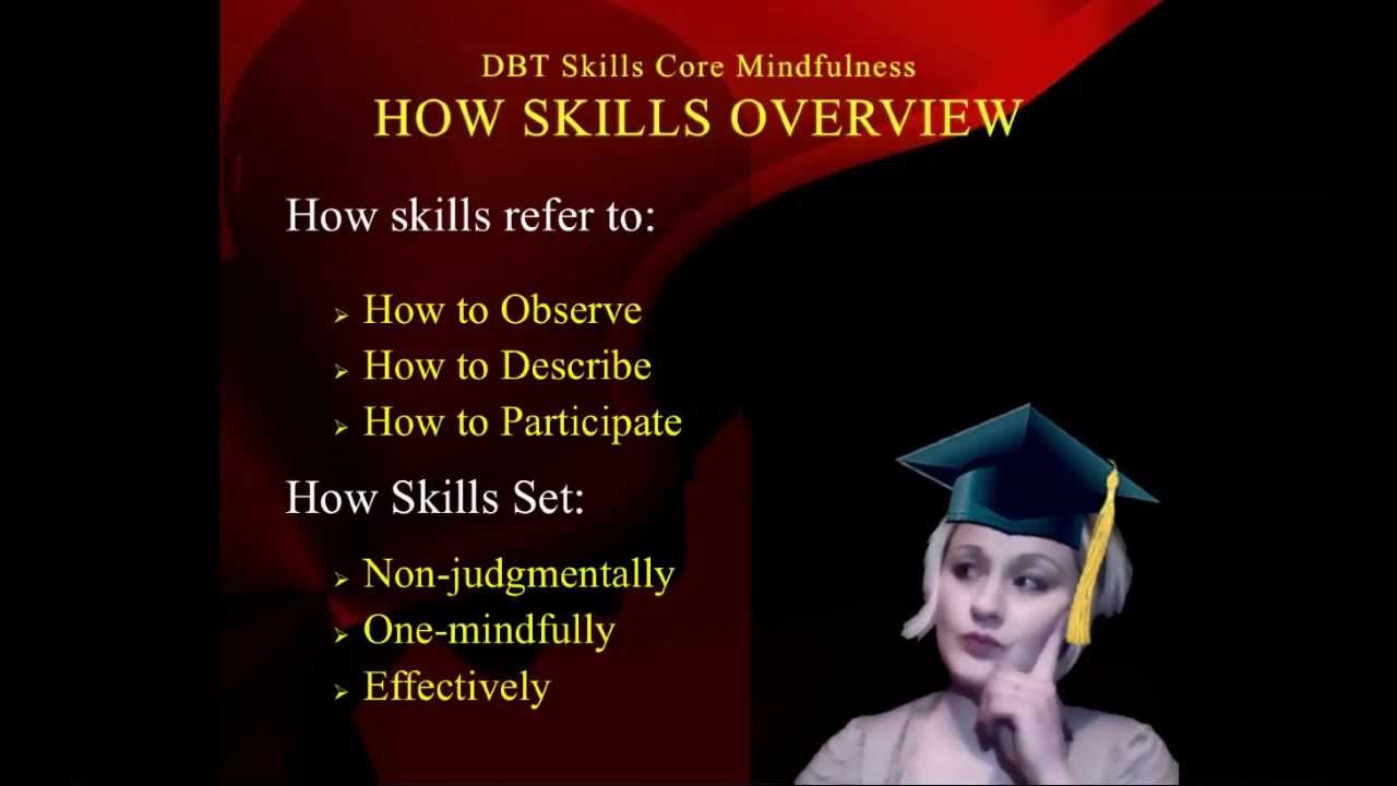 DBT Peer Connections: Episode 1d - Core Mindfulness Skills - by ...