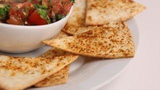 Crispy Baked Tortilla Chips Recipe