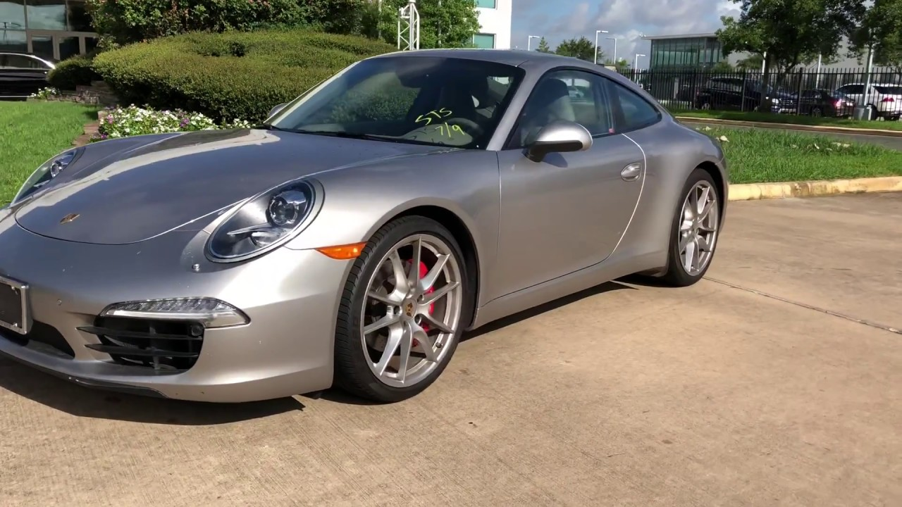 13 911 Carrera S, 25k Mi, 7spd   $69k   Mo At Mercedes Benz Houston North