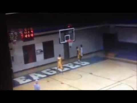 Chris Ford PG #20 AIB Basketball 11/13/13