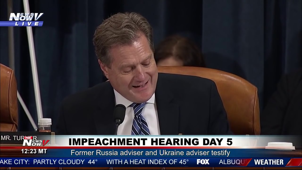 """YOU GUYS WANNA BE THE LAUGHING STOCK OF HISTORY?"" Mike Turner on Impeachment Hearing Day"