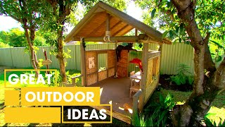 Download How To Make Your Own Jungle-Book Inspired Cubby House | Outdoor | Great Home Ideas Mp3 and Videos