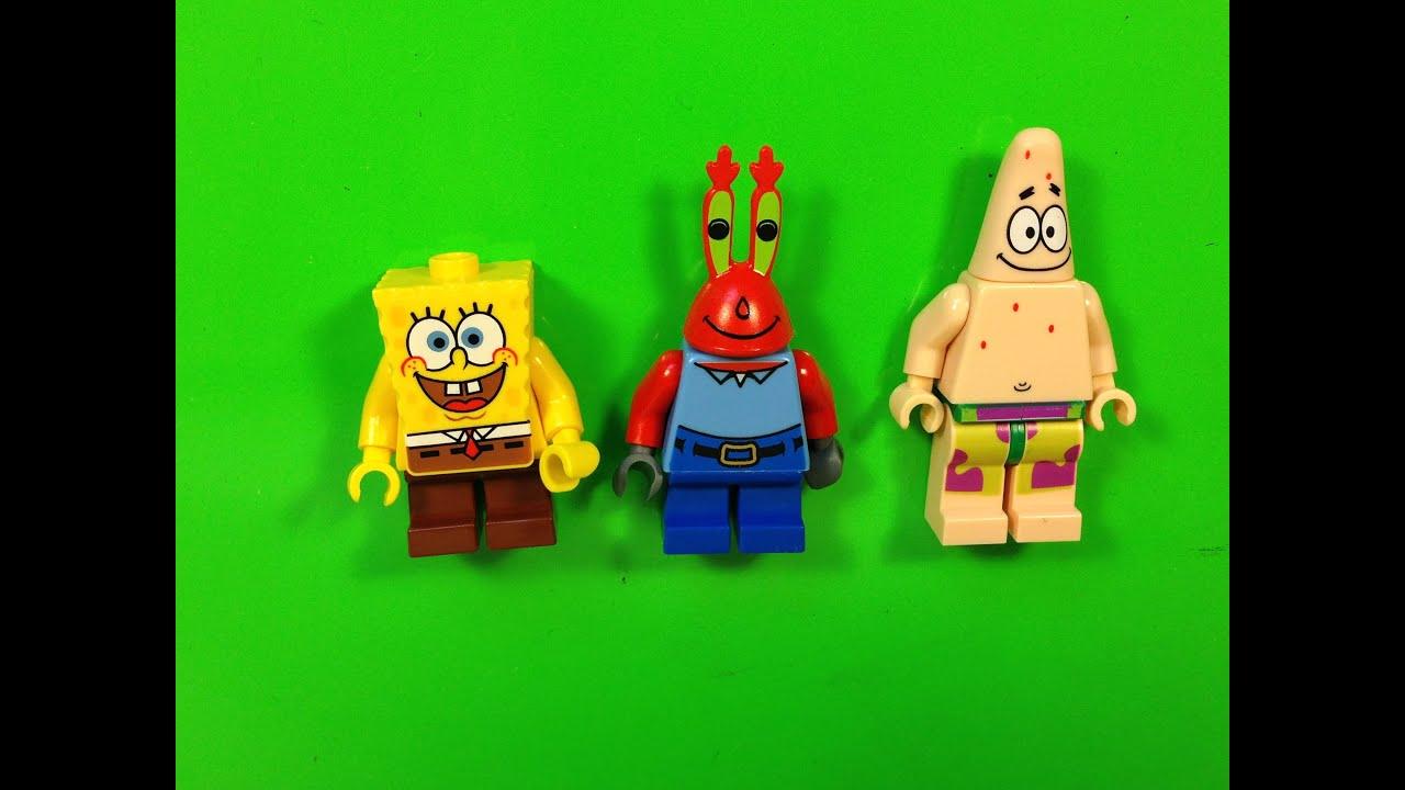lego spongebob squarepants magnet set 851854 from 2007 patrick mr
