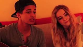 Sabrina carpenter and Jordan fisher - Christmas ( baby come home )