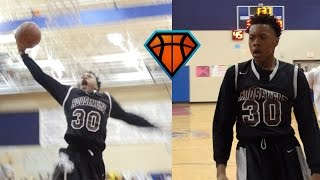 6'5 8th Grader Scottie Barnes Is Going To Be SPECIAL!! | Leads Roosevelt To Championship