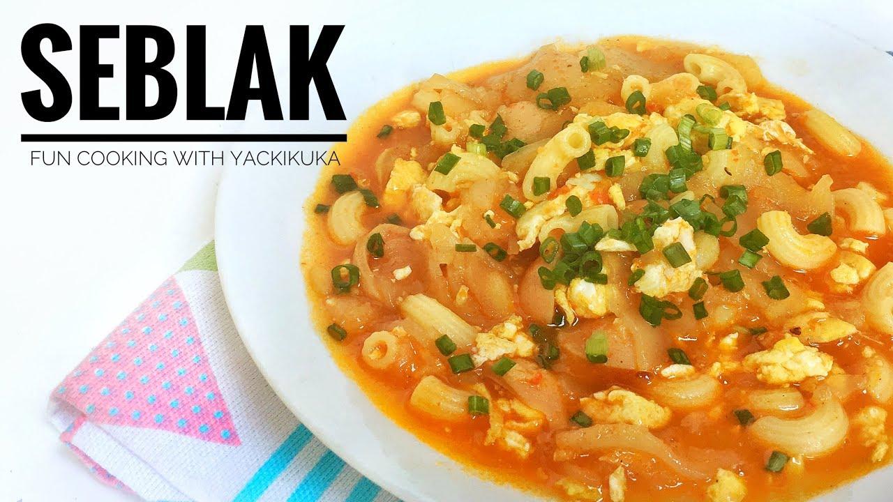 SEBLAK * INDONESIAN savoury and spicy dish