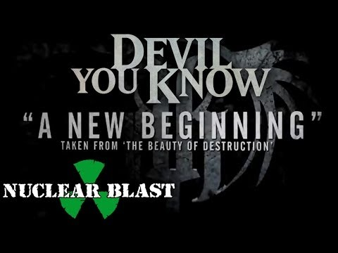 DEVIL YOU KNOW - A New Beginning (OFFICIAL LYRIC VIDEO)