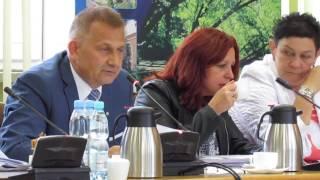 XXVII sesja Rady Powiatu �askiego cz.1
