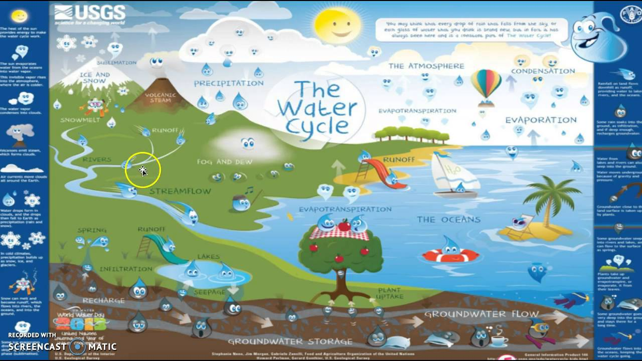 Water Cycle Lesson Plan Bio 121