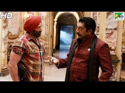 सनी देओल ने किया प्रकाश राज का पर्दाफाश   Singh Saab The Great   Sunny Deol, Urvashi