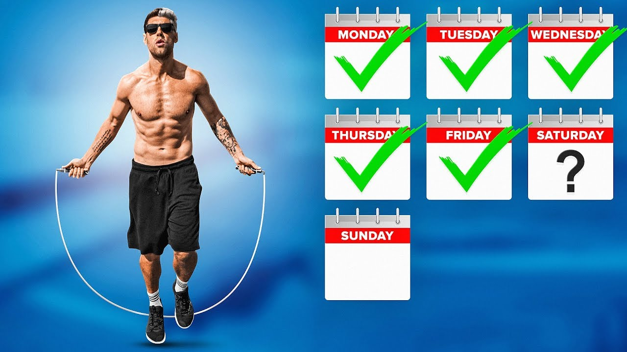 How Many Times Per Week Should You Jump Rope To Lose Body Fat Youtube