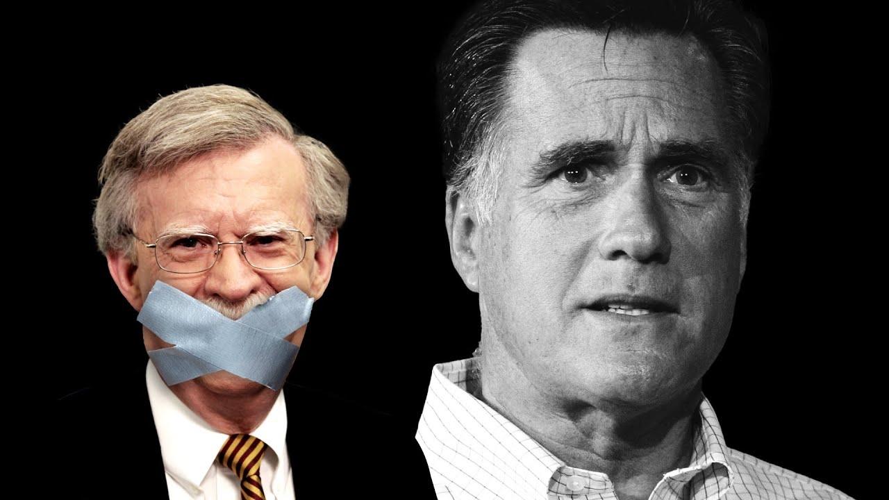 Sen. Romney, John Bolton Must Testify