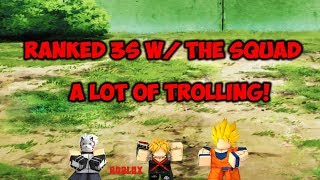 PLAYING RANKED 3s WHILE TROLLING | ABA | ROBLOX