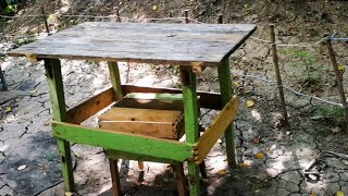 Facem o masă pentru căsuță!