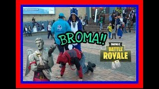 FORTNITE IN REAL LIFE (BROMAS) - Sebas Guata