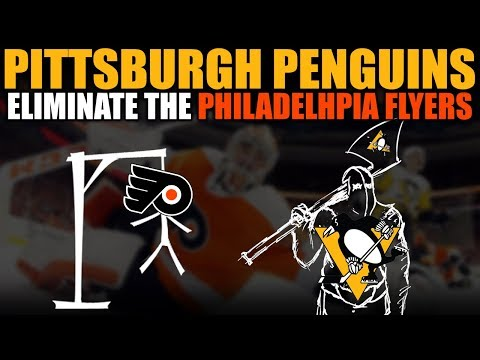 Pittsburgh Penguins Eliminate the Philadelphia Flyers
