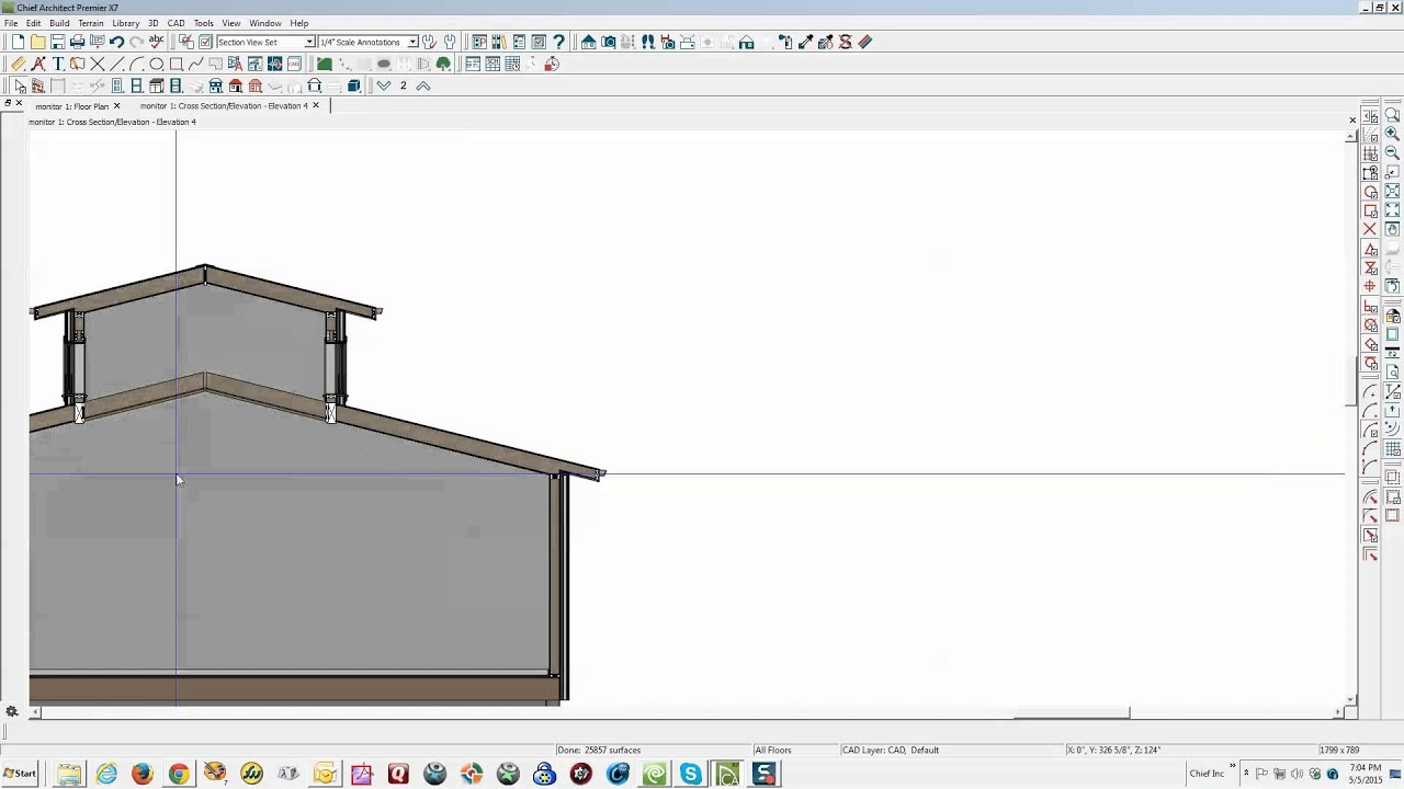 Monitor Roof Framing Problem Solved Youtube