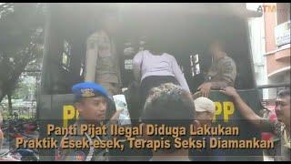 Panti Pijat Ilegal Diduga Lakukan Praktik Esek-esek, Terapis Seksi Diamankan - ATMnews