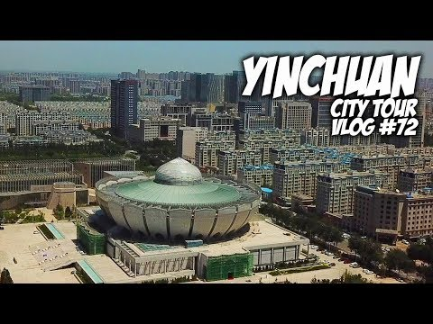 Exploring the city of Yinchuan - China   Travel Vlog #72