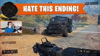 HATE THIS ENDING! | Black Ops 4 Blackout | PS4 Pro