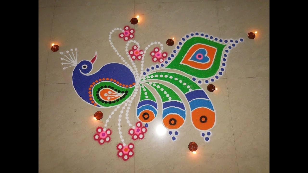 Diwali Rangoli coloring page from Rangoli category Select from 30918 printable crafts of cartoons nature animals Bible and many more