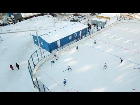 Быстровозводимые модульные здания. Модульная раздевалка для нового хоккейного катка в Новосибирске