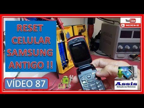 RESET Celular Antigo Samsung SHG C276L V#87