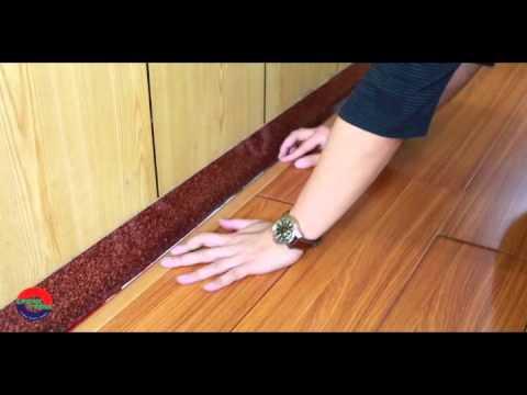 how to make laminate floors less slippery