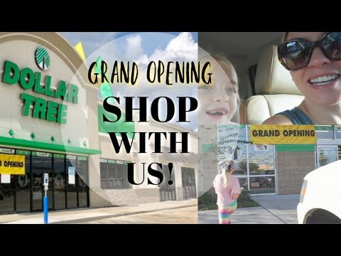 DOLLAR TREE SHOP WITH ME GRAND OPENING STYLE| NEW CHRISTMAS 2018 FINDS| Megan Navarro