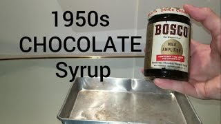 66 Year Old BOSCO Chocolate Syrup