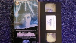 Opening to Nightmare on Elm Street 1985 VHS