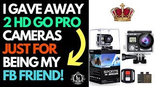 I Gave Away 2 HD Cameras Just For being My FB Friend - Royaltie Elite!