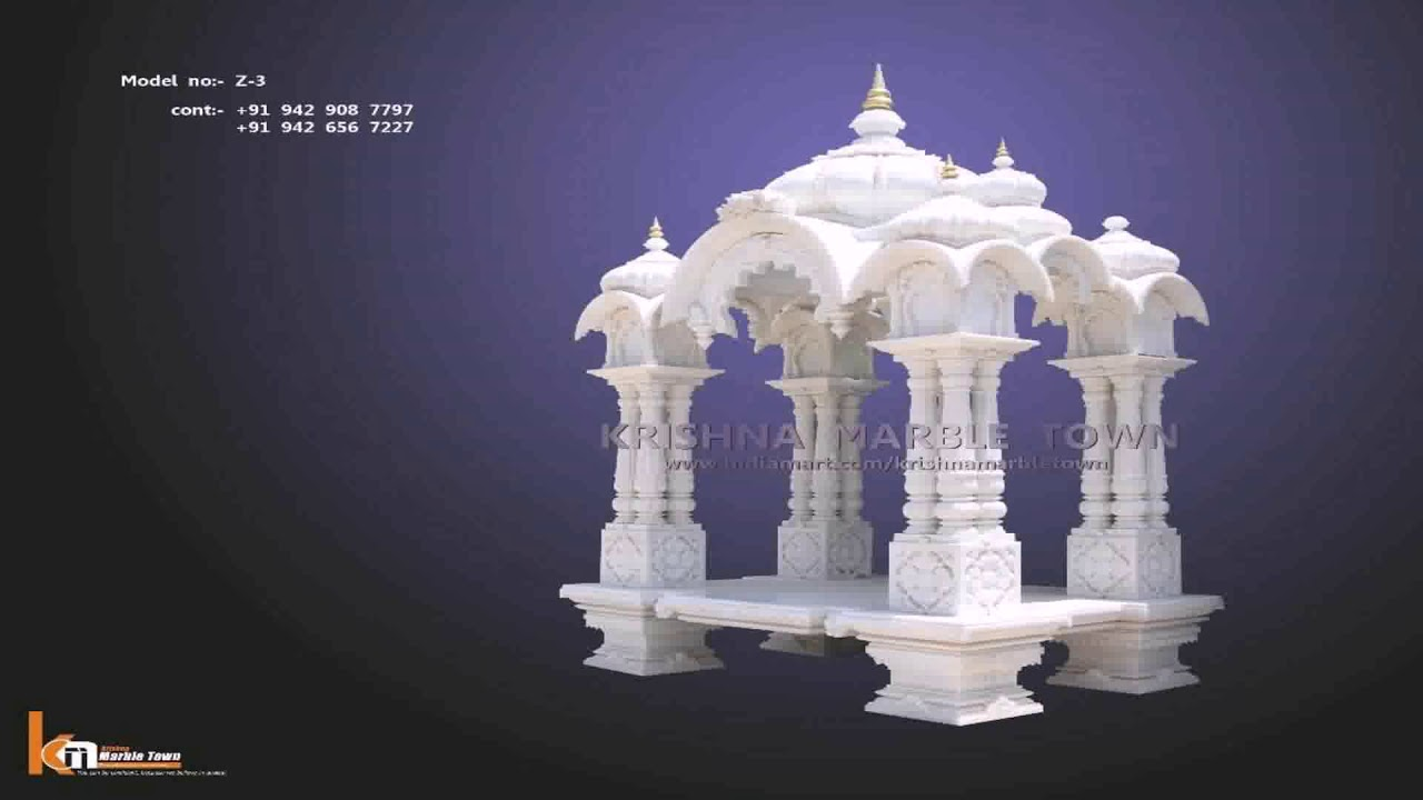 Hindu Small Temple Design Pictures For Home - YouTube