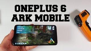 OnePlus 6 ARK: Survival Evolved Gaming test Adreno 630 Gameplay EPIC mode Snapdragon 845