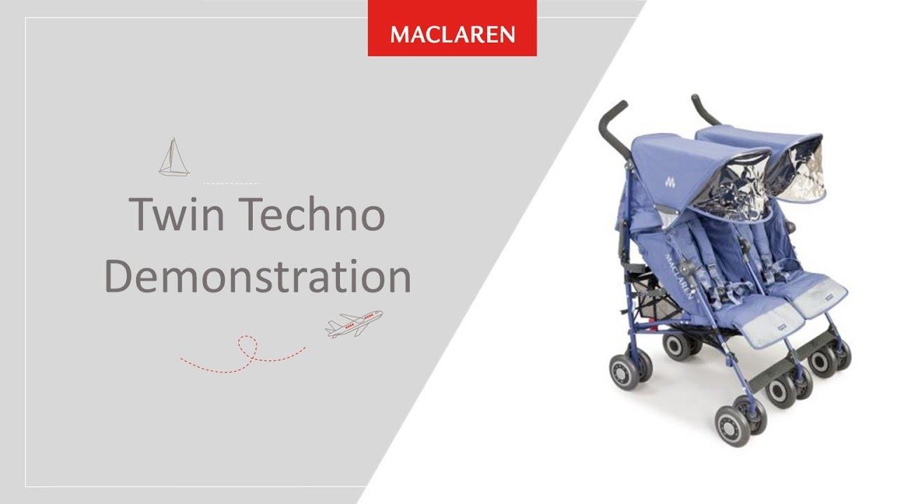 Maclaren Twin Techno Youtube