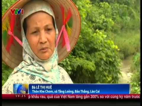 Ô nhiễm khu công nghiệp Tầng Loỏng, Lào Cai